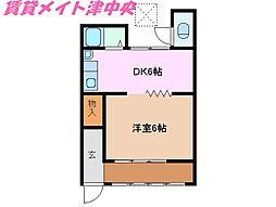 [一戸建] 三重県津市久居新町 の賃貸【/】の間取り