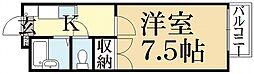 Sharia Kitayama[1階]の間取り