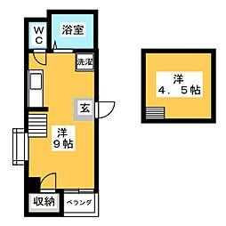 日商ビル[4階]の間取り