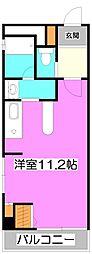 埼玉県富士見市大字鶴馬の賃貸マンションの間取り