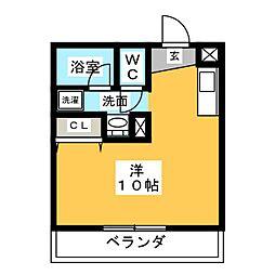 RISE[5階]の間取り