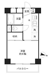 粟沢マンション[2階]の間取り