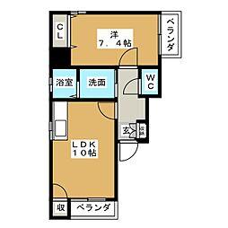 アビタシオン葵[9階]の間取り