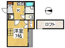 K-PLAZA綾[2階]の間取り