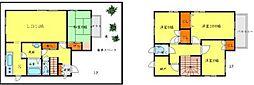 [一戸建] 大阪府豊中市東豊中町4丁目 の賃貸【/】の間取り