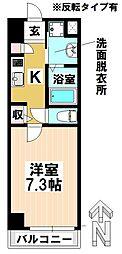 愛知県名古屋市南区元柴田東町2丁目の賃貸マンションの間取り