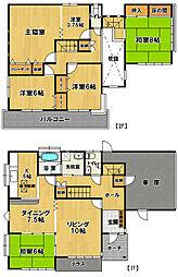 [一戸建] 茨城県つくば市小野川 の賃貸【茨城県 / つくば市】の間取り