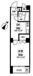 メゾン・オークラ[202号室]の間取り