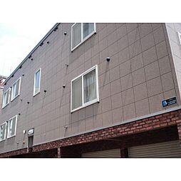 北海道札幌市中央区南八条西6丁目の賃貸アパートの外観