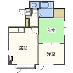 アイビーハウスIII[2階]の間取り