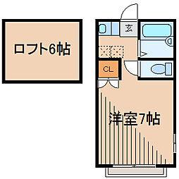 ミネルバ[2階]の間取り