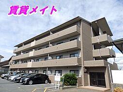 三重県四日市市西富田3丁目の賃貸マンションの外観