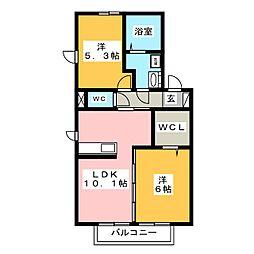 (仮)D−roomウィットS宮子町A[1階]の間取り