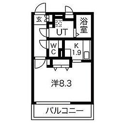 Grande柴田[1階]の間取り