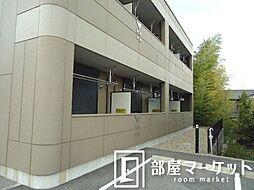 愛知県豊田市西岡町西山の賃貸アパートの外観
