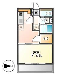 鹿子ビル[2階]の間取り