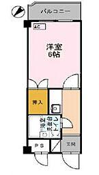 コーポ朝倉[202号室号室]の間取り
