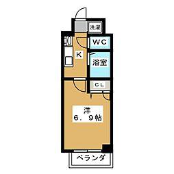 仮称)小川町共同住宅[4階]の間取り