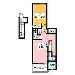 コージーハウス[2階]の間取り