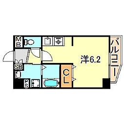 サンハウスHIKARI[3階]の間取り