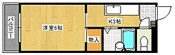第2秋葉ビル[3階]の間取り