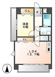 新栄Grand M(シンサカエグランドエム)[12階]の間取り
