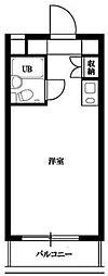 東京都杉並区南荻窪3丁目の賃貸マンションの間取り