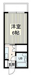 アメニティ長束II[3階]の間取り