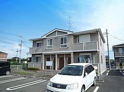 茨城県土浦市神立町の賃貸アパートの外観