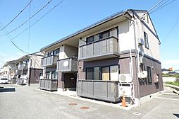 長野県長野市稲里町下氷鉋の賃貸アパートの外観