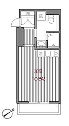 東京都渋谷区代官山町の賃貸マンションの間取り
