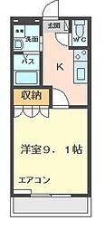 メゾン鈴木[102号室]の間取り