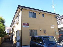東京都昭島市東町5丁目の賃貸アパートの外観