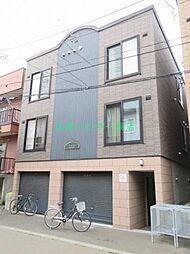 北海道札幌市東区北二十一条東14丁目の賃貸アパートの外観