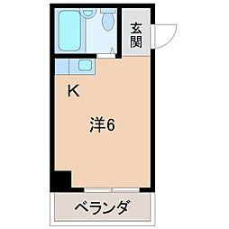プリエール田中町[7階]の間取り
