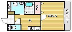 アルドール[3階]の間取り