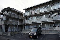 岡山県岡山市北区津島西坂2丁目の賃貸マンションの外観