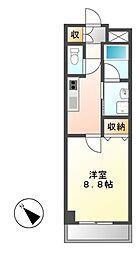 CASSIA大曽根(旧アーデン大曽根)[10階]の間取り