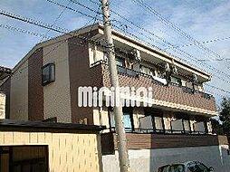 愛知県名古屋市天白区植田山3の賃貸アパートの外観