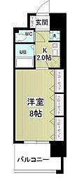 千葉県千葉市緑区おゆみ野3の賃貸マンションの間取り