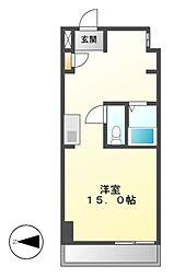 S-FORT六番町[8階]の間取り