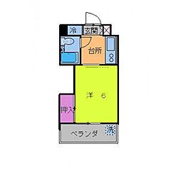 メゾンパルス[2階]の間取り