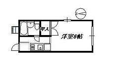 サンライズハイツ[2階]の間取り