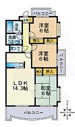 姪浜駅 9.0万円