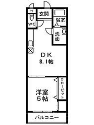 フジパレス堺鳳中II番館[3階]の間取り