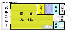シャトレ和白[2階]の間取り