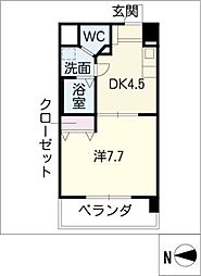 T's Dream名駅[10階]の間取り