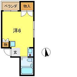 永和第3ビル[5階]の間取り