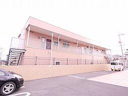 岡山県岡山市南区福富東1丁目の賃貸アパートの外観