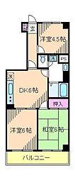 オオギロイヤルコート[4階]の間取り
